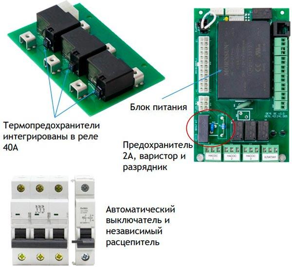 Электроника котла BAXI AMPERA