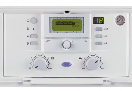 Газовый котел BOSCH GAZ 7000: панель управления