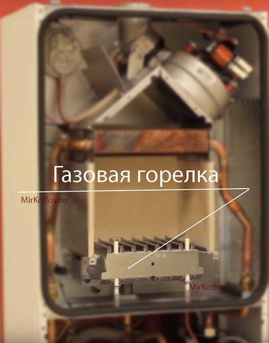 газовый котел с закрытой камерой сгорания
