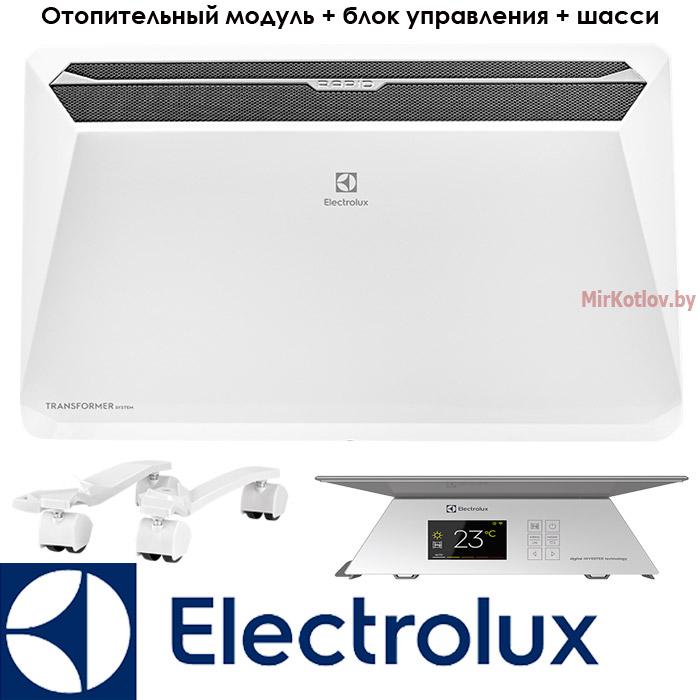 Инверторный конвектор Электролюкс Рапид Трансформер 2 кВт