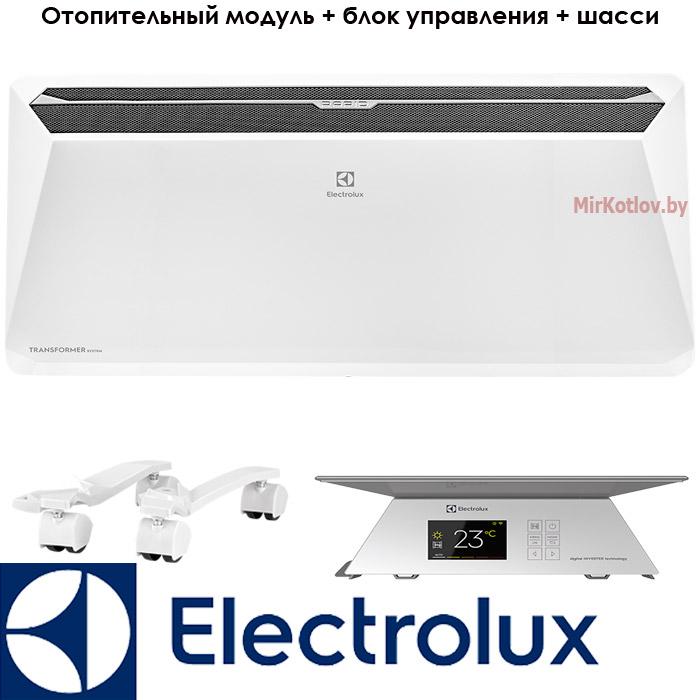 Инверторный электрический конвектор Электролюкс 2,5 кВт