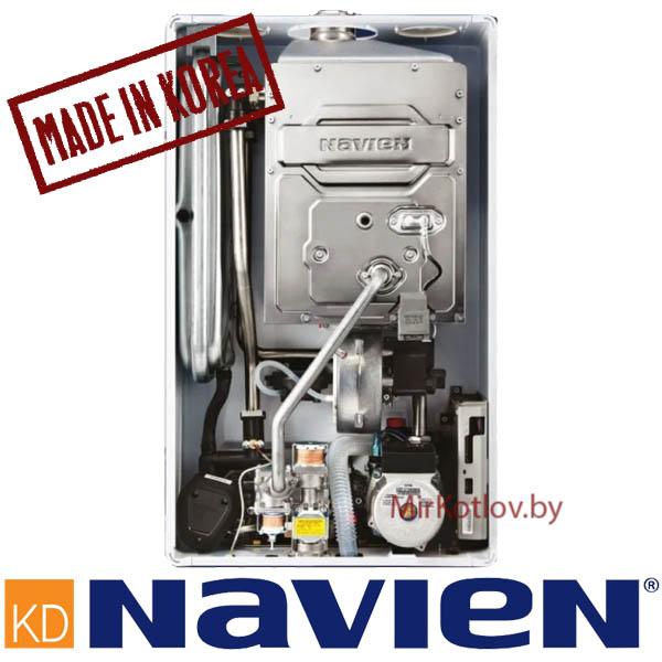 Газовый котел Navien Deluxe S 13 K в разборе